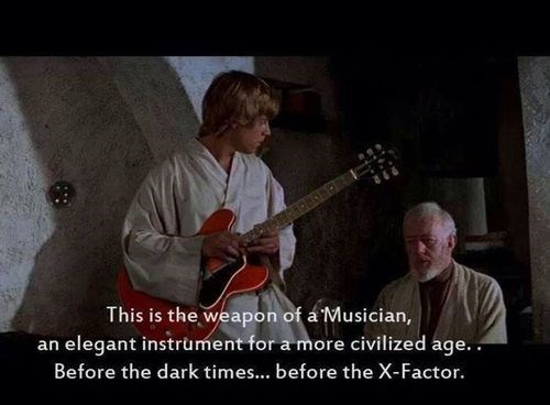 guitar star wars luke skywalker Music g rated