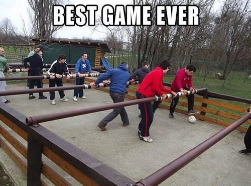 IRL,foosball,games