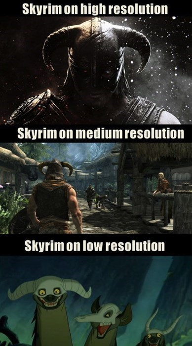 Skyrim,video games,pcs