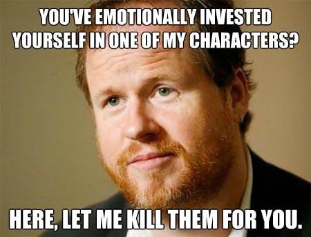 Joss Whedon whedonverse favorite character - 7946869248