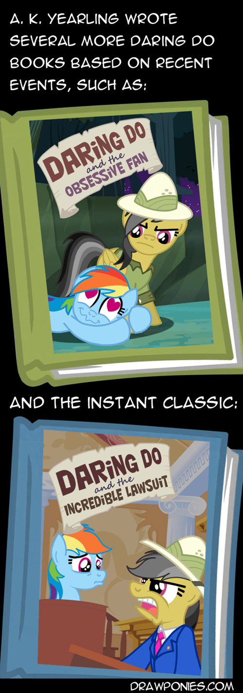 daring do rainbow dash alternate books fan stalker - 7946896128