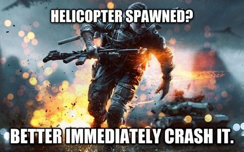 Battlefield 4 trolls