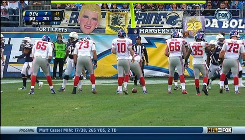 eli manning new york giants trolling san diego chargers - 7946915840