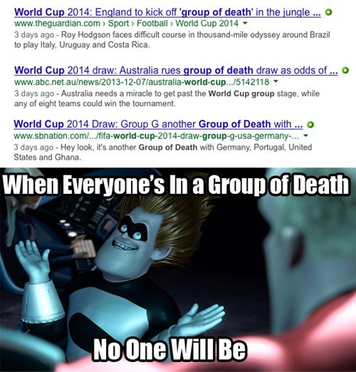 world cup,group of death