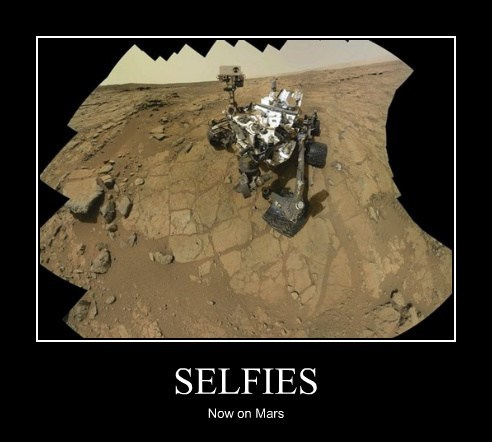 SELFIES Now on Mars