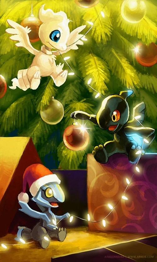 christmas,kyurem,reshiram,zekrom