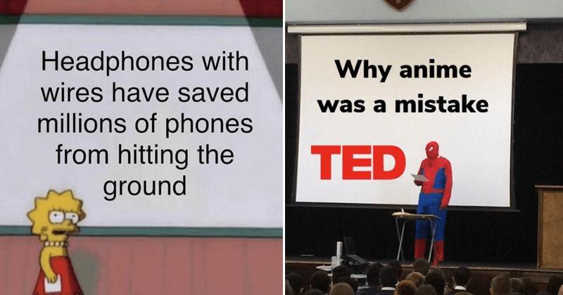 funny presentation memes.