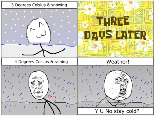 snow,Okay,weather,rain,Y U NO
