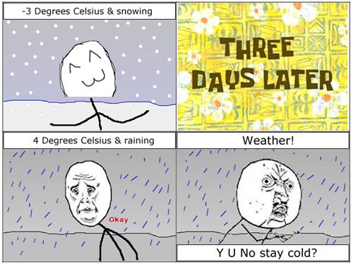 snow,Okay,weather,rain,Y U NO