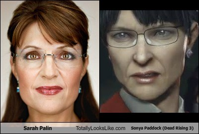 Sarah Palin Totally Looks Like Sonya Paddock (Dead Rising 3)