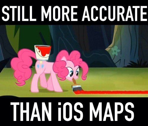 apple,pinkie pie,iOS maps