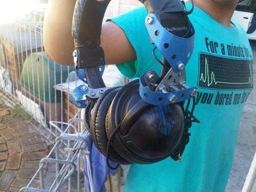 headphones erector set there I fixed it - 7948140032