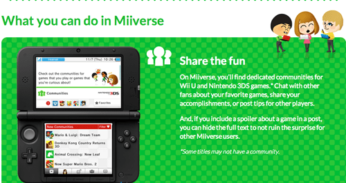 3DS nintendo news updates Miiverse Video Game Coverage - 7948209664