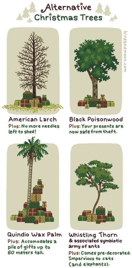 christmas trees web comics - 7948406016