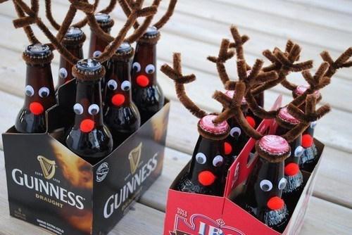 beer guinness christmas funny reindeer after 12 - 7948428288