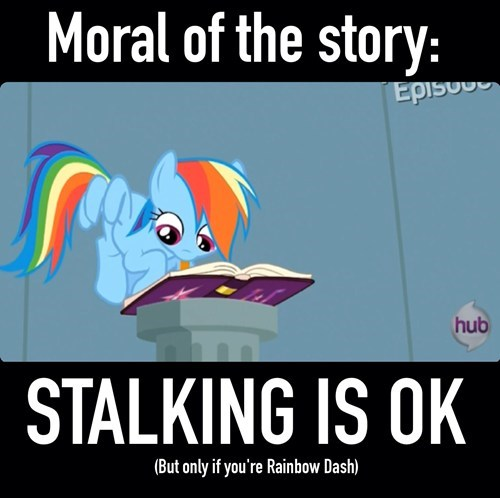 moral,rainbow dash,daring don't