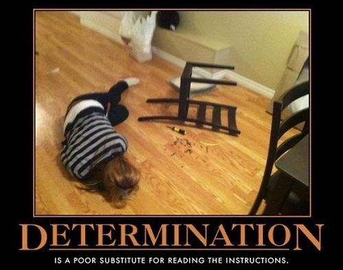chair idiots determination wtf