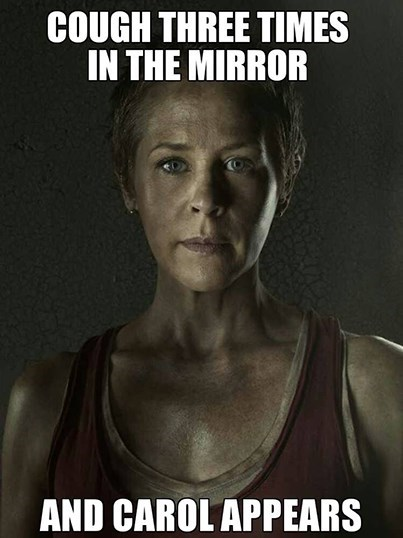 bloody mary,carol peletier,carol burns
