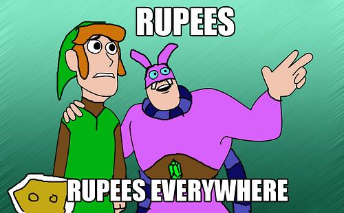rupees Memes zelda a link between worlds - 7948620544