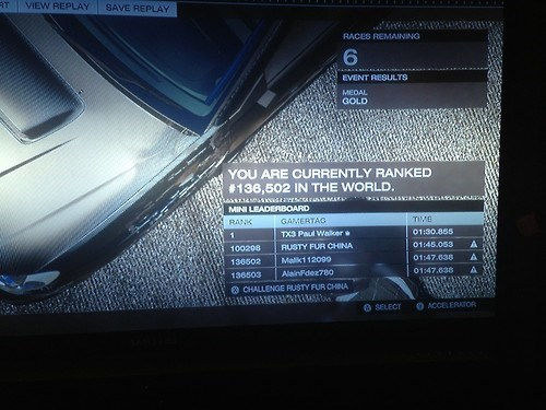 forza paul walker video games leaderboards - 7948664064