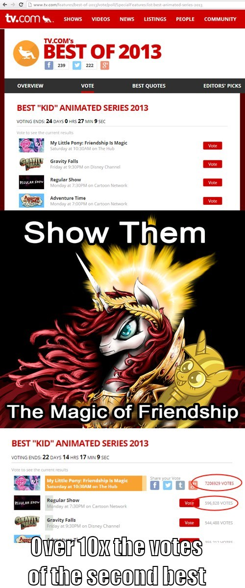 Bronies vote MLP best of 2013 - 7948790272