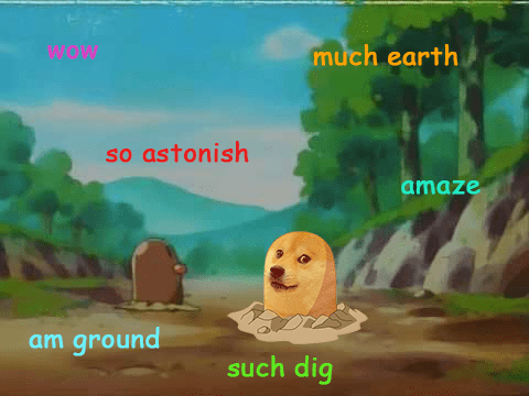 diglett diglett wednesday Memes Pokémon doge