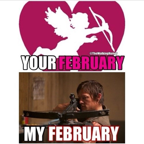 daryl dixon february Valentines day - 7948859648