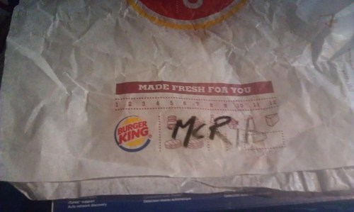 mcrib fast food there I fixed it