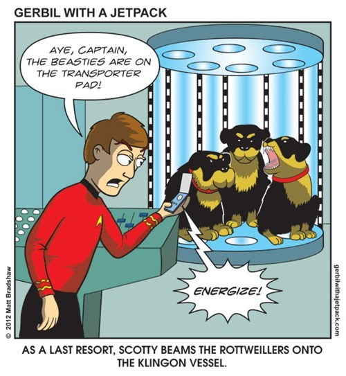 Star Trek scifi web comics - 7948975104