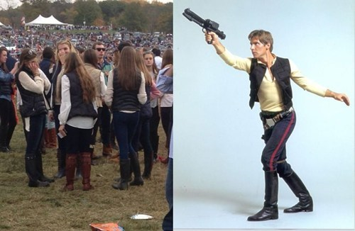 "It looks like Han Solo is the new ""King Of Fashion"""