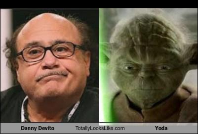 danny devito,totally looks like,yoda