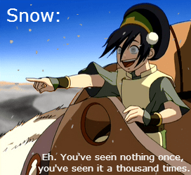 Avatar Avatar the Last Airbender cartoons snow - 7949936384