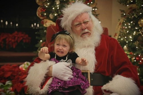 kids parenting santa claus
