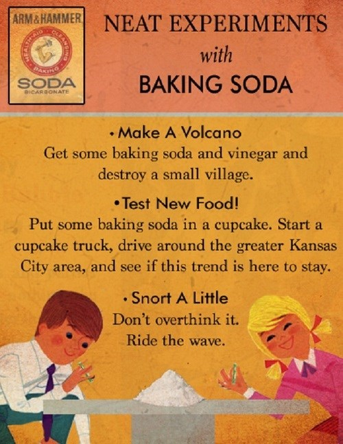 baking soda funny Fake Science wtf - 7949962240