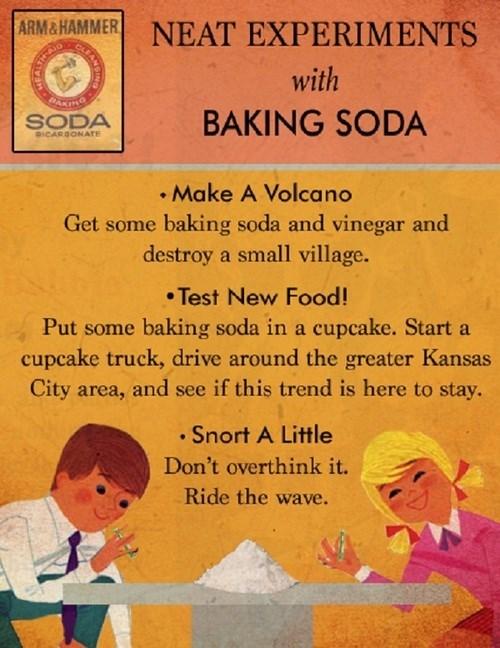 baking soda funny Fake Science wtf - 7949962240