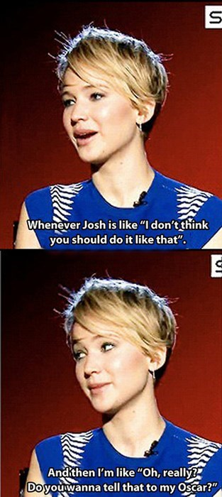 oscar josh hutcherson jennifer lawrence
