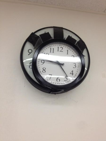 clocks,there I fixed it,tape