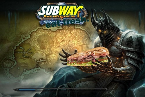 world of warcraft Subway bolvar - 7950096896