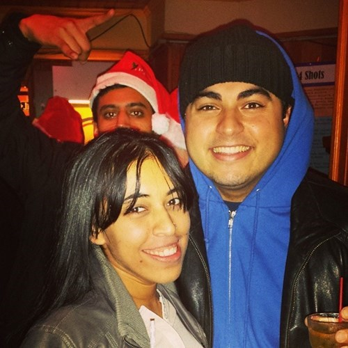 photobomb,santa hat