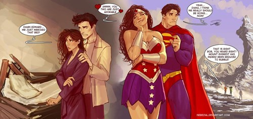 rough love,wonder woman,twilight,superman
