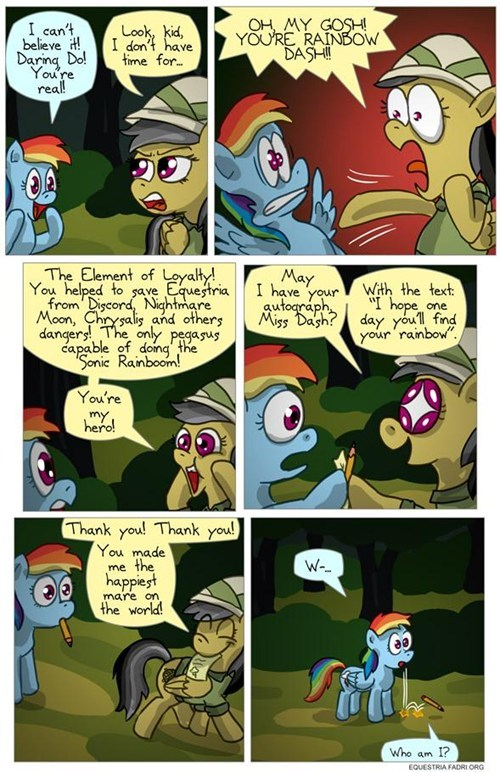 daring do fans rainbow dash sonic rainboom