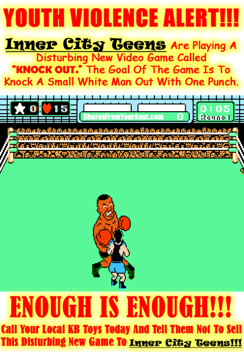 knock out,video games,trolling,Punch Out,inner city teens