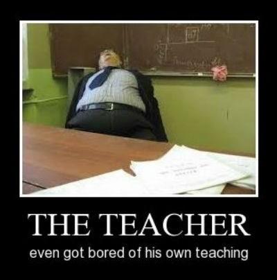 lazy funny teacher sleepy - 7950357760