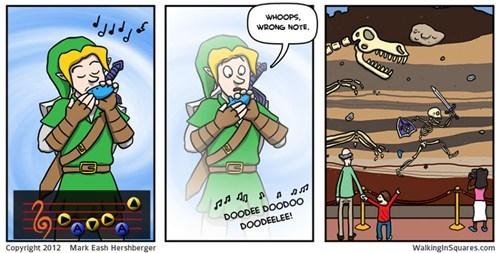 link zelda web comics