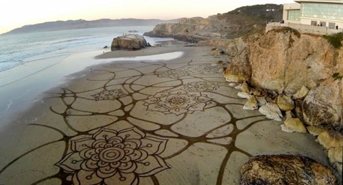 art beach design rake - 7950423552