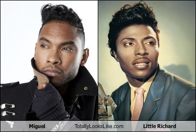 little richard totally looks like miguel - 7950483712