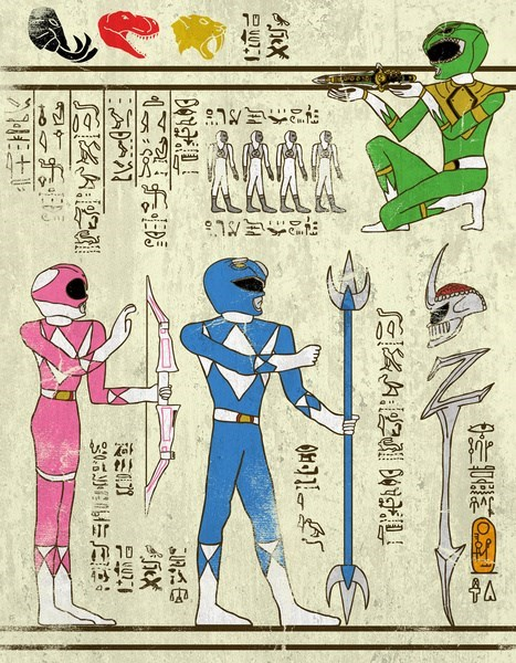 power rangers,wtf,hieroglyphics