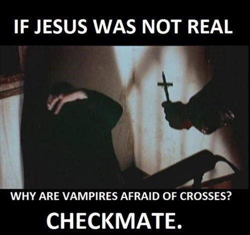 atheists,vampires,christians,checkmate atheists