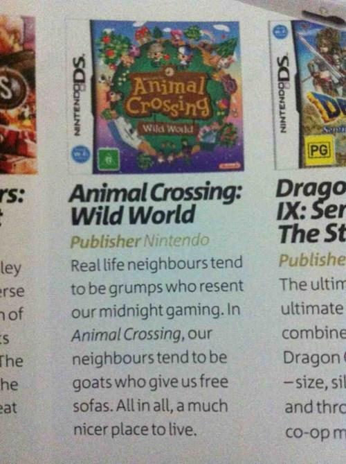 animal crossing summaries - 7950576128