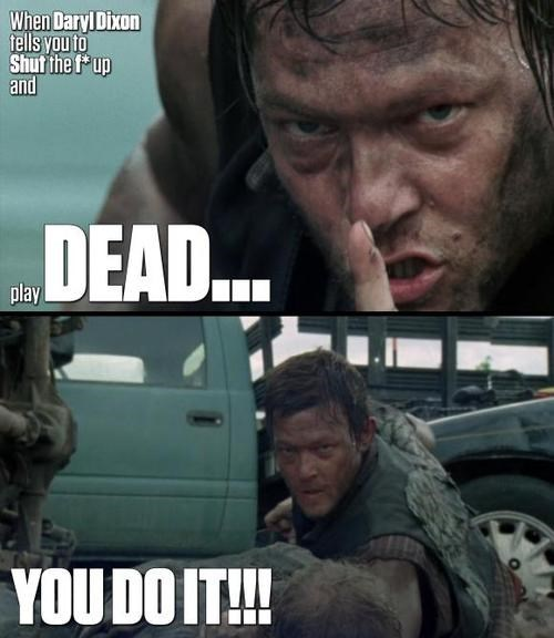 BAMF daryl dixon do what your told - 7950618880